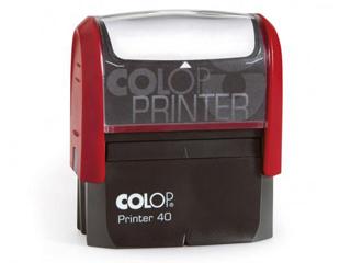 PR40|piros színű Colop PR IQ 40 23x59 mm automata bélyegző - 5500 Ft - Bélyegző Miskolc