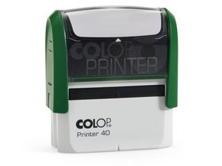 PR40|zöld színű Colop PR IQ 40 23x59 mm automata bélyegző - 5500 Ft - Bélyegző Miskolc