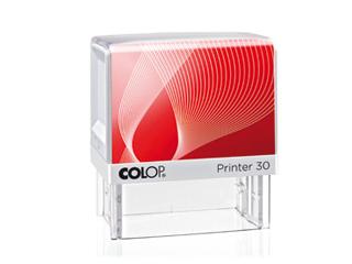 PR30|fehér-piros színű Colop PR IQ 30 18x47 mm automata bélyegző - 4700 Ft - Bélyegző Miskolc