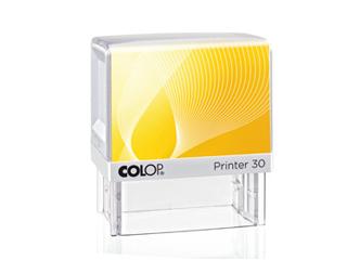 PR30|fehér-sárga színű Colop PR IQ 30 18x47 mm automata bélyegző - 4700 Ft - Bélyegző Miskolc