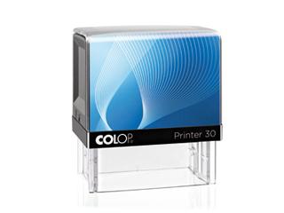 PR30|fekete-kék színű Colop PR IQ 30 18x47 mm automata bélyegző - 4700 Ft - Bélyegző Miskolc